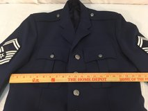 mens air force usaf blue poly/wool 42 long blend service uniform coat jacket  01350 in Fort Carson, Colorado