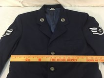 mens air force usaf blue poly/wool 41 reg blend service uniform coat jacket  01356 in Fort Carson, Colorado
