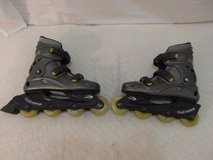 adult mens pro 4700 blade runner gray yellow black 10 roller blades skates  33524 in Fort Carson, Colorado