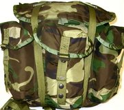 vintage military woodland bdu signal rto sincgars radio rucksack ruck bag  01376 in Fort Carson, Colorado