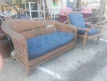 Brown Wicker Furniture in Elgin, Illinois
