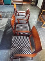 Chairs*Vintage*All Wood*Like New*Red Mahogany in Rolla, Missouri