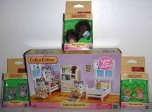 New! Calico Critters Bedroom Set - Twins & Sets $10-$20 in Bolingbrook, Illinois