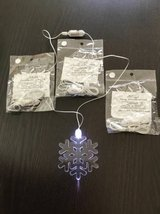 Snowflake LED light necklace in Travis AFB, California