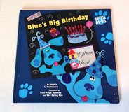 Come To Blue's Big Birthday 1998 Hard Cover Book Blue's Clues Age 2 - 5 Simon & Schuster in Joliet, Illinois