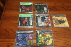 PS1 Games $7.00 Each in Conroe, Texas