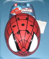 NEW w Tags Marvel Ultimate Spider Man 3D Bicycle Helmet Boys Age 5 - 8 Safety Certified in Yorkville, Illinois