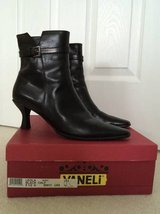 LEATHER ANKLE BOOTS (Like New!) in Algonquin, Illinois