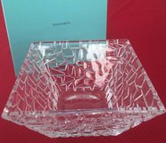 BEAUTIFUL TIFFANY & COMPANY CRYSTAL BOWL (NEW!) in Algonquin, Illinois