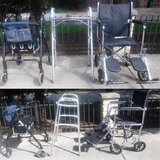 Merits Rollator -OR- Drive Walker -OR- Invacare Transport Wheelchair in Orland Park, Illinois