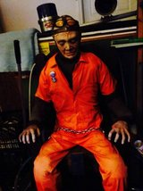 HALLOWEEN HAUNTED HOUSE MAN IN ELECTRIC CHAIR in Batavia, Illinois