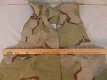us military surplus desert camo pattern pasgt vest cover large / x-large  01430 in Huntington Beach, California