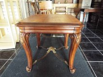 Table*End Table/Coffee Table*Beautiful*Carved Legs*Heavy duty in Fort Leonard Wood, Missouri
