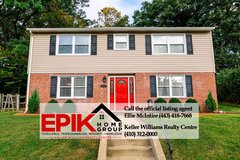 Updated 4 bedroom in Catonsville, MD in Fort Meade, Maryland