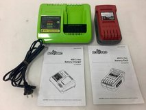 Ecopro Tools 40 Volt Battery & Charger BT-DX0020, CG-DX0020 in Shorewood, Illinois
