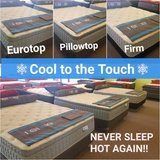 COOL TO THE TOUCH SLEEP TECHNOLOGY - Eurotop, Pillowtop, and Firm in Chicago, Illinois