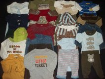 Infant Boys Newborn 0-3M 3-6M Winter Clothes Outfit Lot in Silverdale, Washington