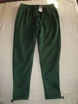 NWT HOLLISTER Guys Green Neoprene Utility JOGGER Pants size S in Silverdale, Washington