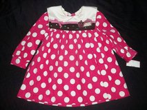 NWT Baby Girls Size 18M Fuchsia Polka Dot Cupcake Cake Dress- BIRTHDAY in Silverdale, Washington