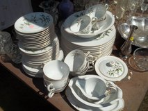 "Vintage ""Wild Cherry"" Fine China Dish Set in Silverdale, Washington"