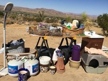 Moving Sale Friday 9/29 & Saturday 9/30 in Yucca Valley, California