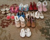 Baby Girl Shoe Lot 12 Pair in Byron, Georgia