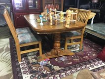 Large Dining Table and Four Chairs in Tacoma, Washington