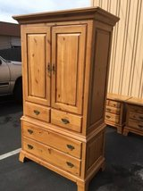 Beautiful Honey Oak Armoire in Tacoma, Washington