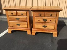 Set of Solid Wood Honey Oak Nightstands / End Table in Tacoma, Washington