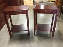 Set of Two Quality Nightstands / End Tables in Tacoma, Washington