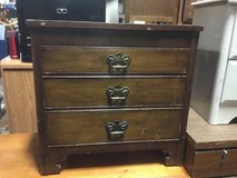 Antique Three Drawer Dresser in Tacoma, Washington