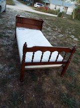Bed*Single*Complete*Vintage*Mattress,Box Spring,Head &  Foot Board in Fort Leonard Wood, Missouri
