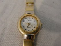 womens carriage gold silver stainless steel back base metal bezel 7 watch  00495 in Fort Carson, Colorado