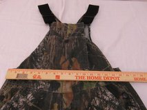 youth mossy oak field staff xlarge wooded camo pattern overalls  00636 in Huntington Beach, California