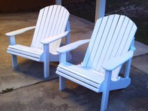 2 Adirondack Chairs NOVEMBER SPECIAL!! in Warner Robins, Georgia
