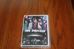 One Direction Up All Night The Live Tour DVD in Kingwood, Texas