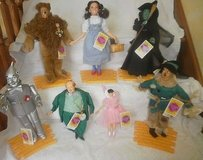 7 wizard of oz dolls yellow brick road set of 7 by presents hamilton gifts toto in Plainfield, Illinois