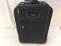 ciao! black 20 x 8.5 x 14 rolling wheeled collapsible handle travel luggage  01274 in Huntington Beach, California