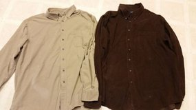 Mens size xl button front shirt jackets in Camp Pendleton, California