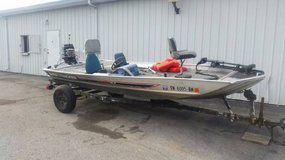 1986 Bass Tracker Boat w/ 50 HP Mercury Motor, Trailer, & More in Fort Campbell, Kentucky
