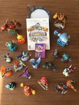 Skylander Giants Wii Game and Guys! Complete Set - Great Gift in New Lenox, Illinois