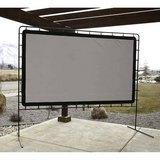 """High Resolution Outdoor Movie Screen, 144"""" in Plainfield, Illinois"""