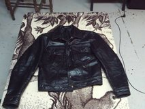 Leather Motorcycle Jacket Ladies Size Small (Eatonton) in Macon, Georgia