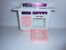 Vintage Barbie Pink Kitchen Dishwasher / Sink   1993 with Name On Sink in Temecula, California