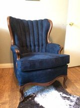 Vintage Channel Back Accent Chair in San Diego, California