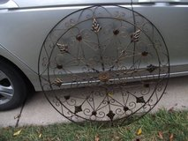 ALL METAL LARGE WALL ART / HANGER in Tinley Park, Illinois