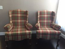 ~PAIR OF BROYHILL QUEEN ANNE WINGBACK CHAIRS~ in Naperville, Illinois
