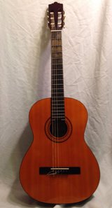 Carlo Robelli Classical Guitar + Gig Bag by Guitar Research - Good Condition in Bellaire, Texas
