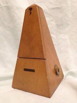 Vintage Seth Thomas Metronome - All Wood Functional Art Piece in Bellaire, Texas