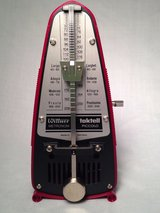Metronome: Wittner Taktell made in Germany-- No Batteries Required! in Bellaire, Texas